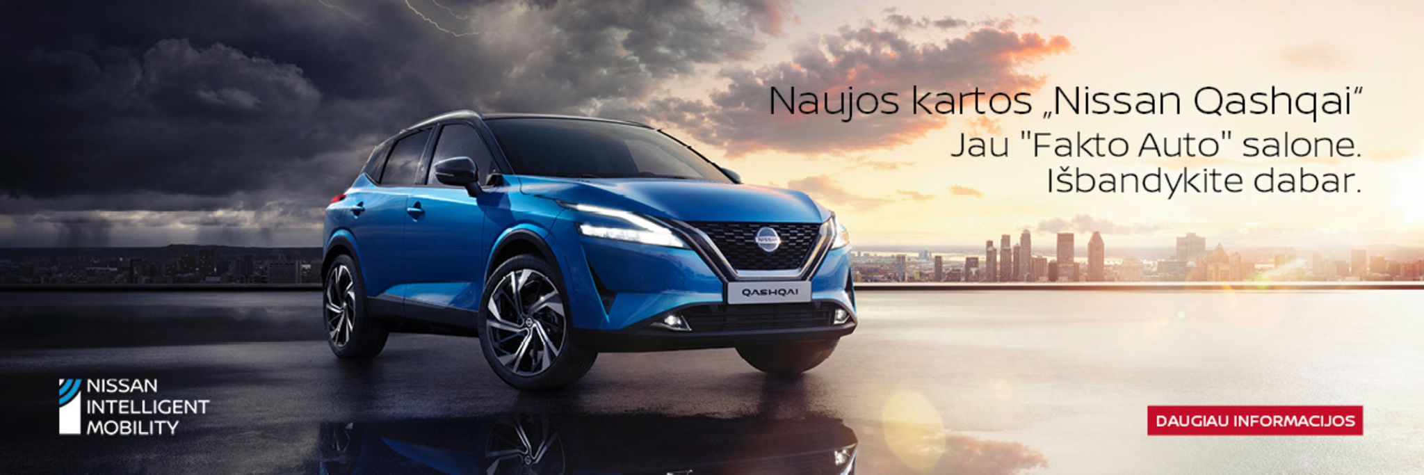 Naujasis Nissan Qashai jau Fakto Auto salone
