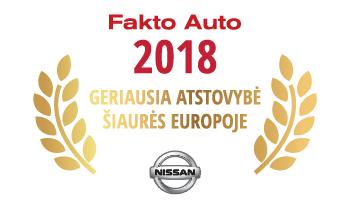 """Lietuvių įmonė pripažinta geriausia """"Nissan"""" atstovybe Šiaurės Europoje"""