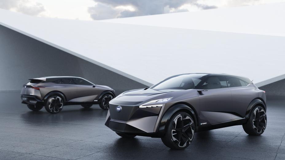 """""""Nissan"""" pristato IMQ koncepciją 2019 m. Ženevos automobilių parodoje"""