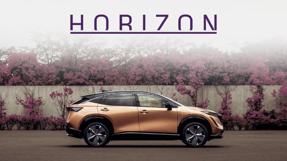 """Sveiki prisijungę prie """"Horizon"""" Pažintinė kelionė į """"Nissan Ariya"""" dizaino pasaulį"""