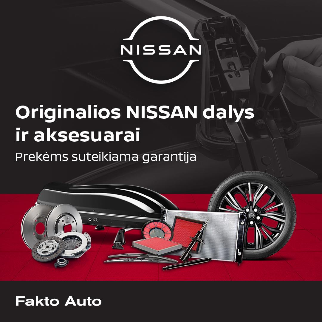 Nissan autodalys internetu – nauja, patogesnė realybė